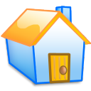 house, building, homepage, yellow, home icon
