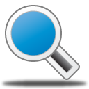 magnifying glass, find, zoom, search icon