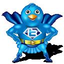 twitter, superman icon