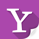 yahoo, buzz, multimedia, media, square icon