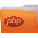 folder, php icon