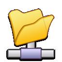 network, folder icon