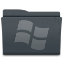 windows, system, folder icon
