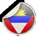 &, barbuda, antigua icon