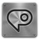 Metal, Photoshop icon