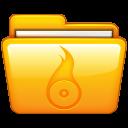 roxio, folder icon