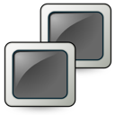 Monitors, Network, Screen icon