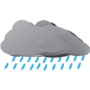 Raining, Weather icon