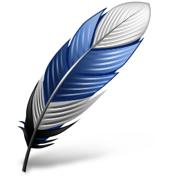 filter, feather, hot icon