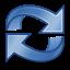 refresh, view, reload, gnome icon