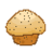 poppy,seed,muffin icon