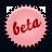rose, beta, splash icon