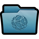 network, server, mac, folder icon