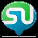social balloon stumbleupon icon