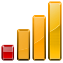 graph, bars, device, block, wired, statistics, stats, chart icon