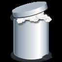 Full, Trash, User icon