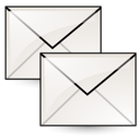 stock, envelop, message, email, letter, copy, duplicate, mail icon