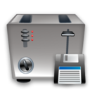Save, Toaster icon