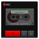 recorder, base, detailed, android icon