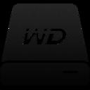HDD WD My Passport Ultra Black icon