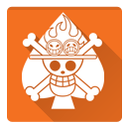 ace, one piece, gol d ace icon