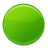 circle, ball, green, go icon