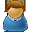 user,male,member icon