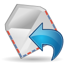 Mail, Reply, Sender icon