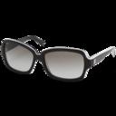 chanel,black,glasses icon