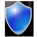 Blue, Shield icon