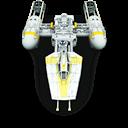 Star, Wars, Wing, y icon