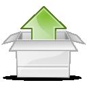 Application, Gnome, Gzip, Mime, x icon