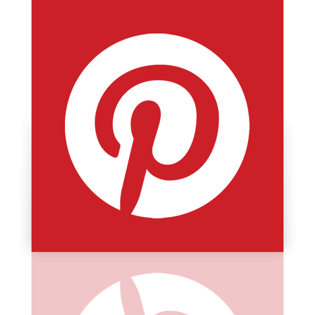 mirror, pinterest icon