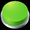 Button, Go, Green, Perspective icon