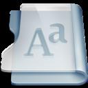 graphite,font,book icon