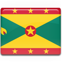 grenada, flag icon
