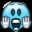 Emot Scared Shocked icon