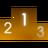 podium, gaming, game, standing, highscores, ranking icon
