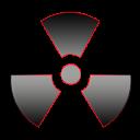 The radiation icon