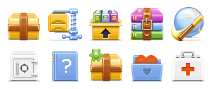 Archive, , Toolbar icon