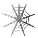 web, halloween, scary, spider icon
