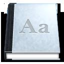 Accessories, Agenda, Dictionary icon