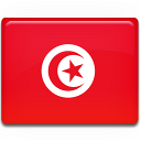 tunisia, country, flag icon