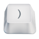 bracket close icon
