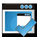 application, ok, check icon