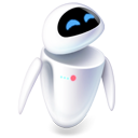 player, robot, media, unique icon