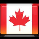 flag, canada icon
