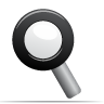 search, magnifying glass, find icon