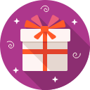 gift, box, package, birthday icon