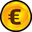 finance, euro, payment, coin, money, currency icon